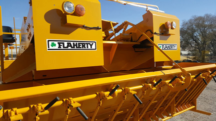 image of WH Flaherty Used Chip Spreader for Sale 2