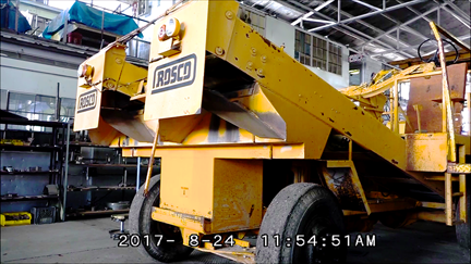 image of Used Rosco Flaherty Chip Spreader
