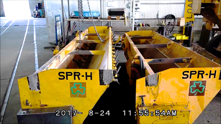 image of Two Rosco Chip Spreader Hoppers
