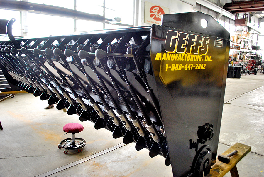 image of Used Chip Spreader Rebuilt Hopper